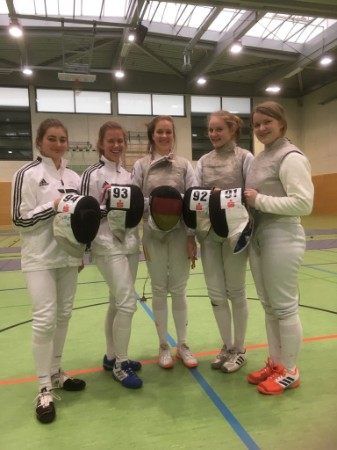 04.03.2018 | Moers | Int. Junioren QB Damenflorett Turnier